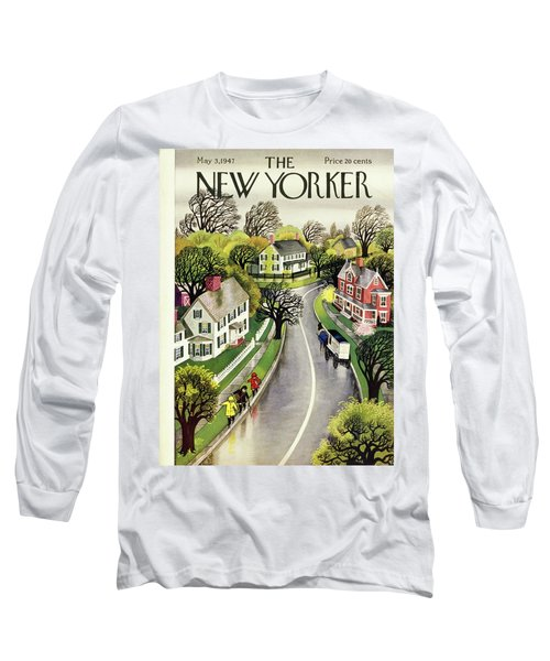 New Yorker May 3rd 1947 Long Sleeve T-Shirt