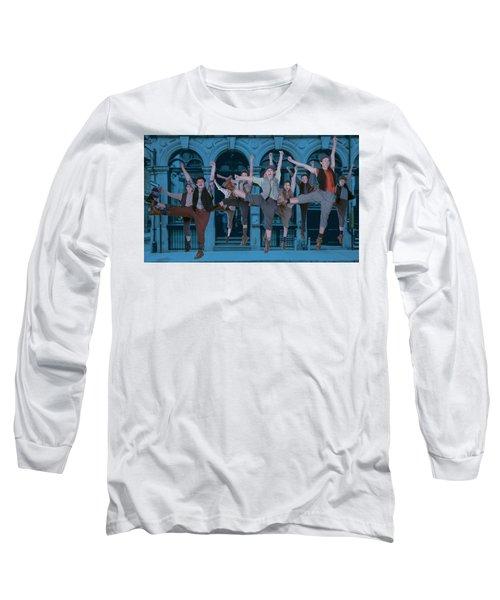 Newsies At The Artisan Center Theater Long Sleeve T-Shirt
