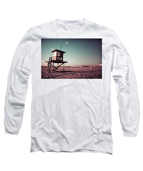 No Lifeguard On Duty Long Sleeve T-Shirt