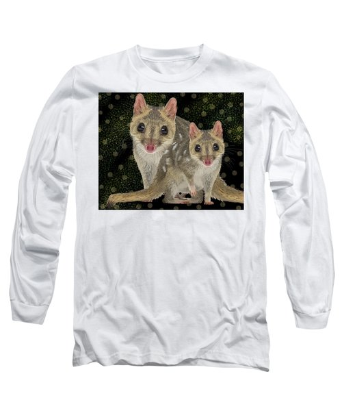 Northern Quoll 3 Long Sleeve T-Shirt