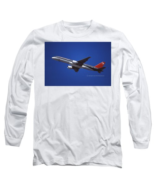 Northwest Airlines Boeing 757-251 Long Sleeve T-Shirt