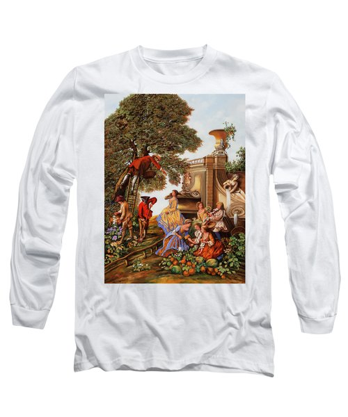 Nove Personaggi In Campagna Long Sleeve T-Shirt