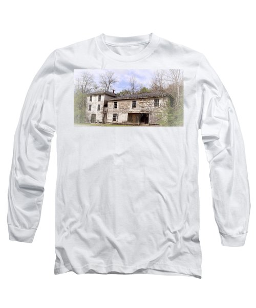 Old Abandoned House In Fluvanna County Virginia Long Sleeve T-Shirt