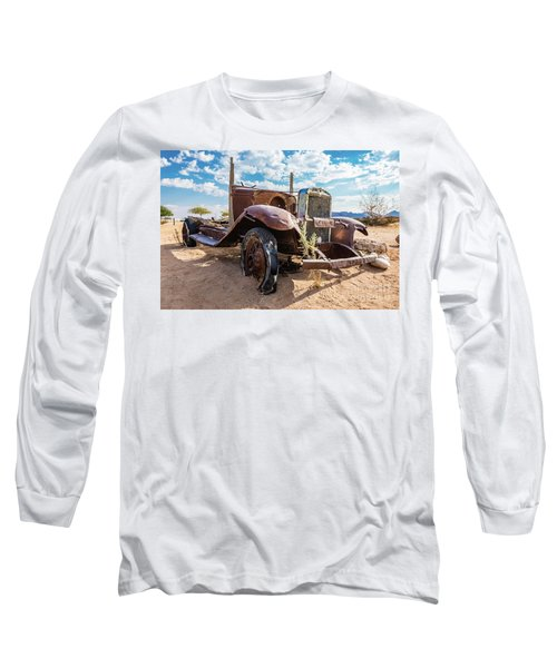 Old And Abandoned Car 3 In Solitaire, Namibia Long Sleeve T-Shirt