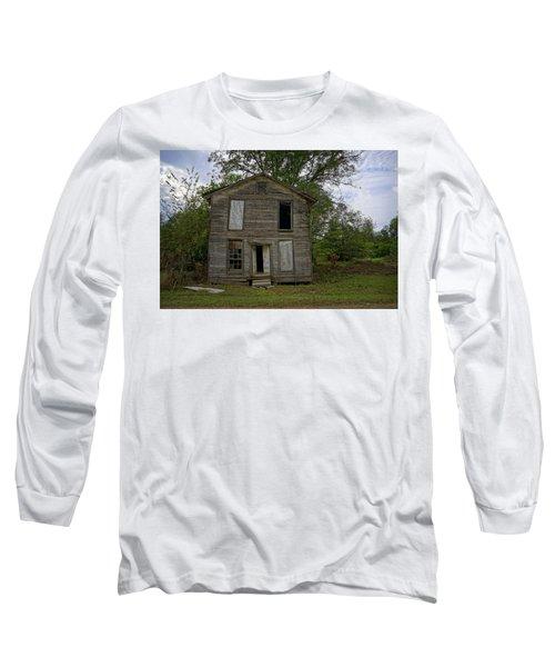 Old Masonic Lodge In Ruins Long Sleeve T-Shirt