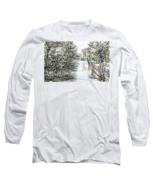 On The Banks Of The River Promenade  Long Sleeve T-Shirt