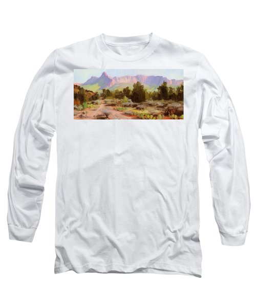 On The Chinle Trail Long Sleeve T-Shirt