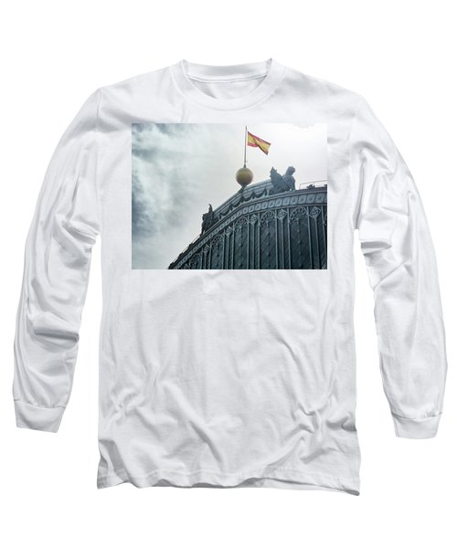 On Top Of The Puerta De Atocha Railway Station Long Sleeve T-Shirt
