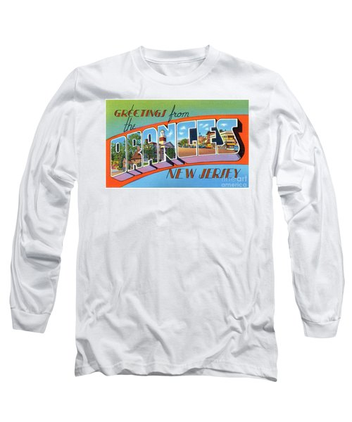 Oranges Greetings Long Sleeve T-Shirt