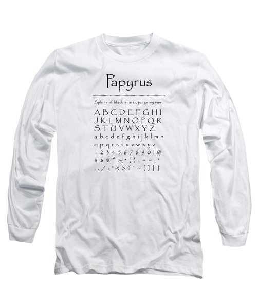 Papyrus - Most Wanted Long Sleeve T-Shirt