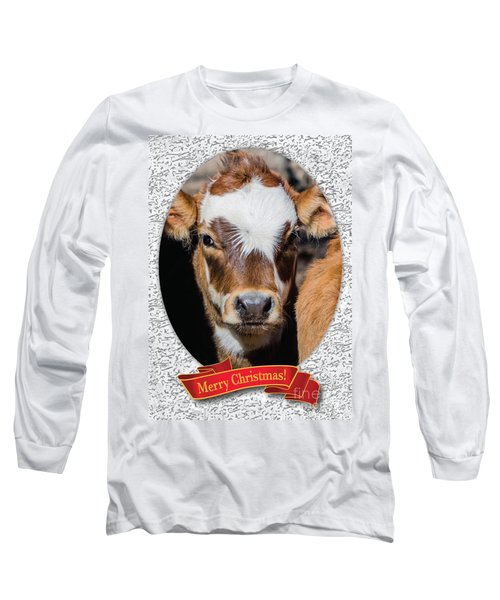 Patches Christmas Long Sleeve T-Shirt