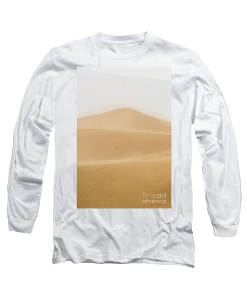 Patterned Desert Long Sleeve T-Shirt