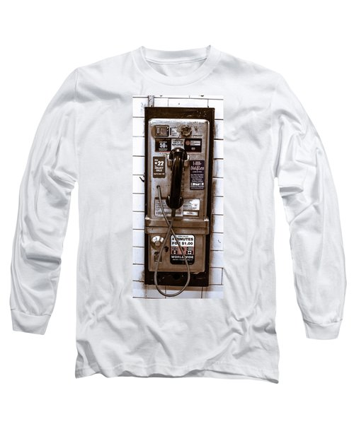 Payphone Long Sleeve T-Shirt