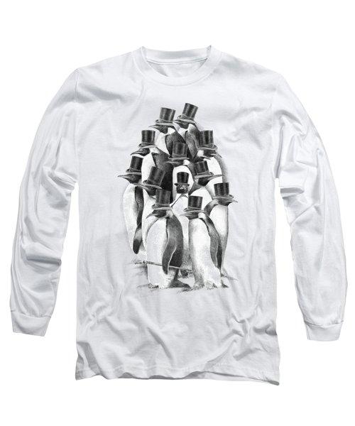 Penguin Party Long Sleeve T-Shirt
