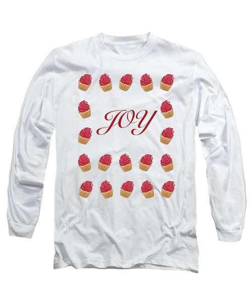 Peppermint Joy  Long Sleeve T-Shirt
