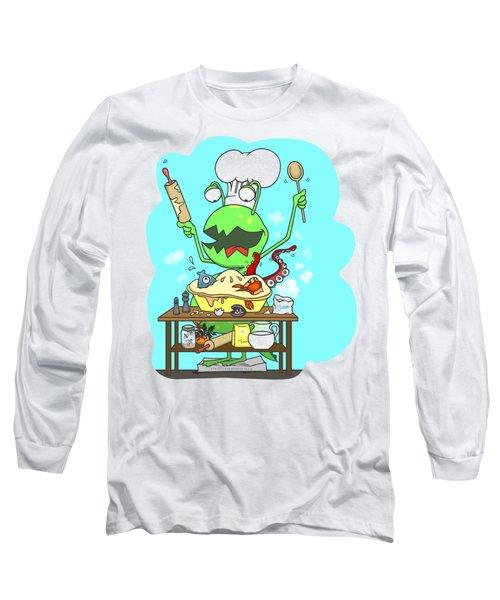 Peter And The Closet Monster, Baker Long Sleeve T-Shirt