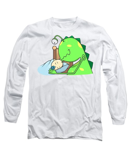 Peter And The Closet Monster, Kiss Long Sleeve T-Shirt