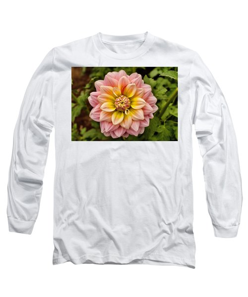 Pink And Yellow Long Sleeve T-Shirt