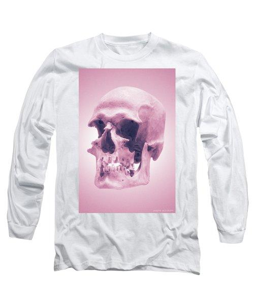 Pink Textures Long Sleeve T-Shirt