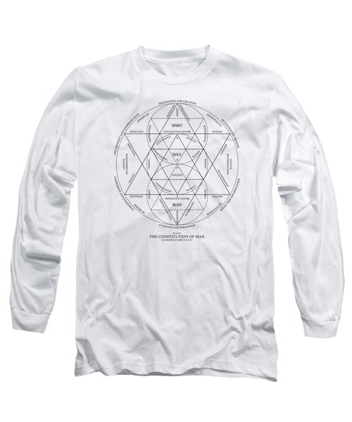 Plan Of Constitution Of Man Long Sleeve T-Shirt
