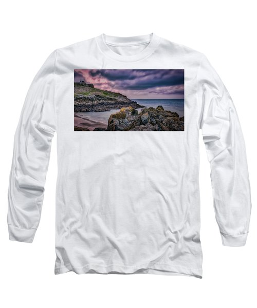 Porthgwidden Dramatic Sky Long Sleeve T-Shirt