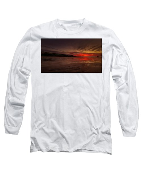 Porthmeor Sunset Long Sleeve T-Shirt