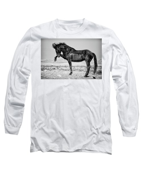 Long Sleeve T-Shirt featuring the photograph Power And Beauty by Mary Hone