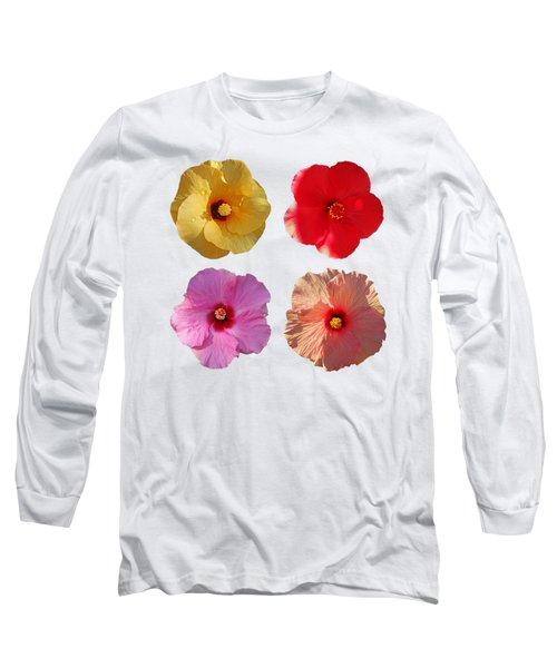 Power Flower Long Sleeve T-Shirt