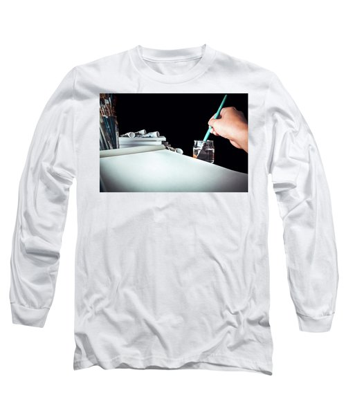 Preparing To Paint Long Sleeve T-Shirt