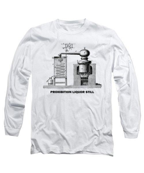 Prohibition Liquor Still - T-shirt Long Sleeve T-Shirt