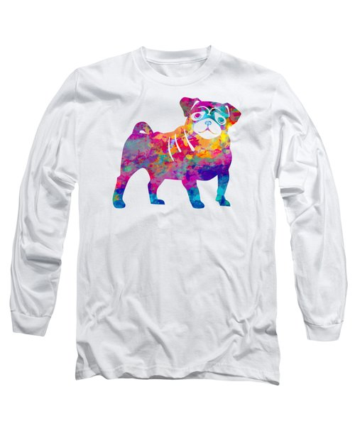 Pug Long Sleeve T-Shirt
