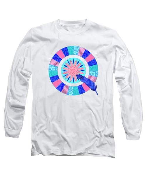 Q Is For Quilt And Quill Long Sleeve T-Shirt
