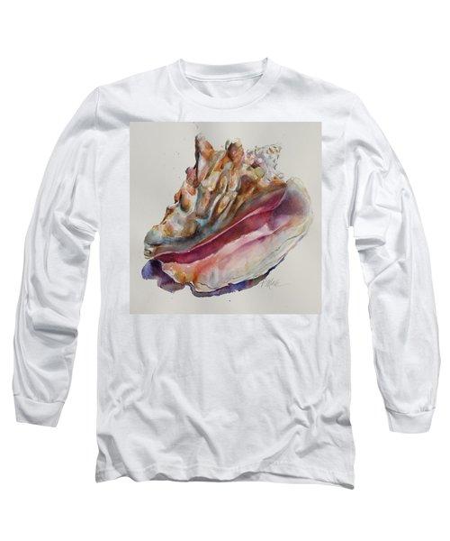 Queen Conch Shell Long Sleeve T-Shirt