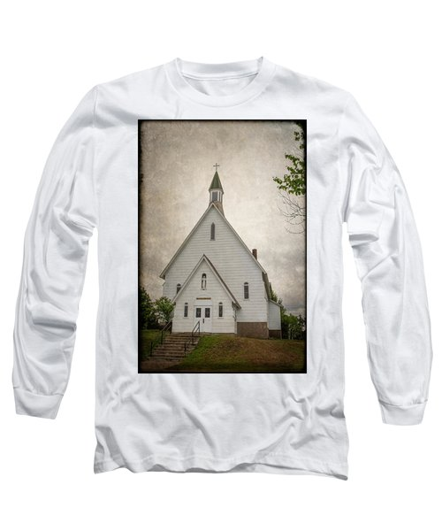 Raquette Lake Chapel Long Sleeve T-Shirt