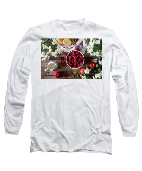 Raspberry Breakfast Long Sleeve T-Shirt