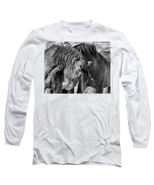 Long Sleeve T-Shirt featuring the photograph Raw by Mary Hone