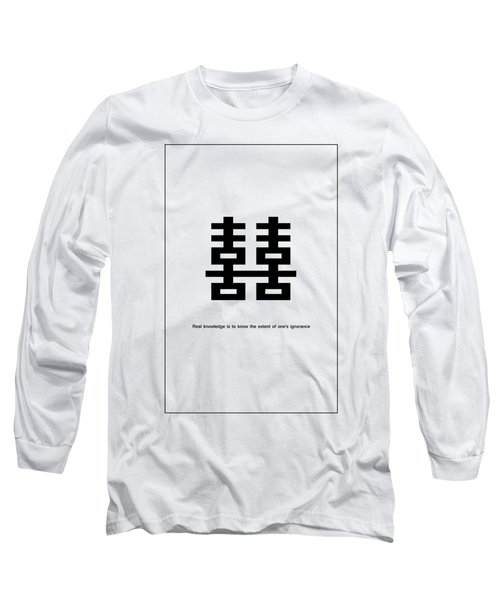Real Knowledge Long Sleeve T-Shirt