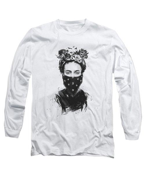 Rebel Girl Long Sleeve T-Shirt