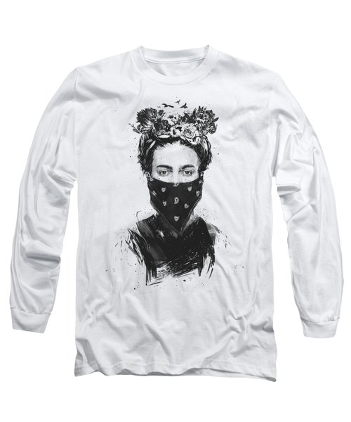 Rebel Girl Long Sleeve T-Shirt