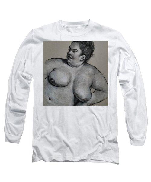Reclining Nude  Long Sleeve T-Shirt