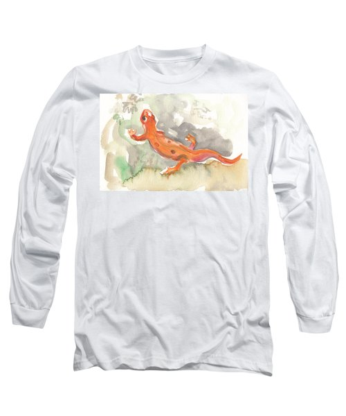 Red Eft Long Sleeve T-Shirt