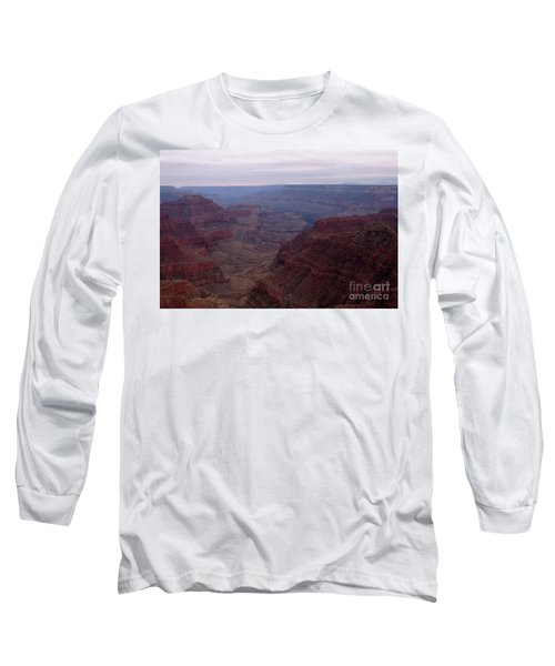 Red Grand Canyon Long Sleeve T-Shirt