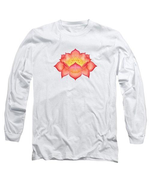 Red Lotus Long Sleeve T-Shirt