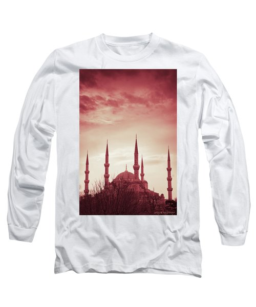 Red Peace Long Sleeve T-Shirt