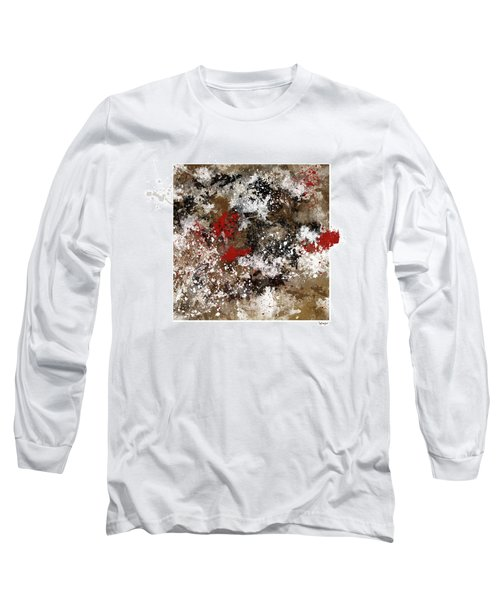 Red Splashes Long Sleeve T-Shirt
