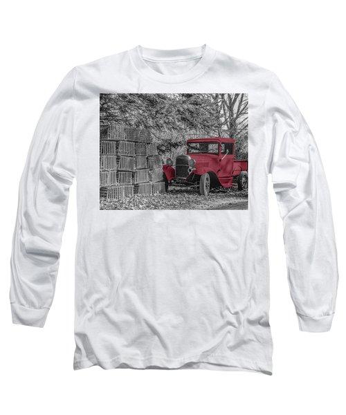 Red Truck Long Sleeve T-Shirt