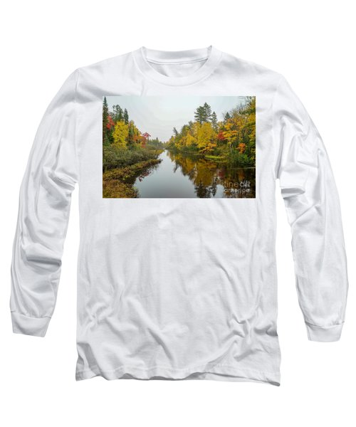 Reflections In Autumn Long Sleeve T-Shirt