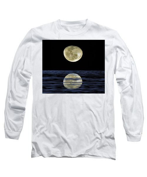 Reflective Moon Long Sleeve T-Shirt