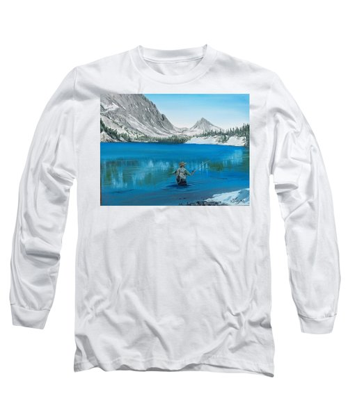 Relaxing At Skelton Long Sleeve T-Shirt