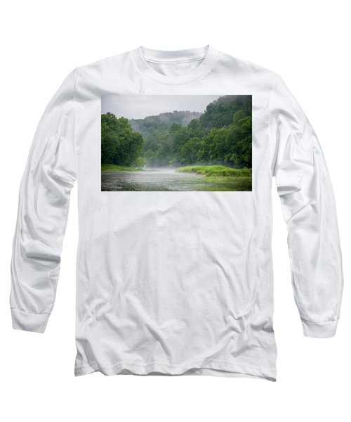 River Mist Long Sleeve T-Shirt
